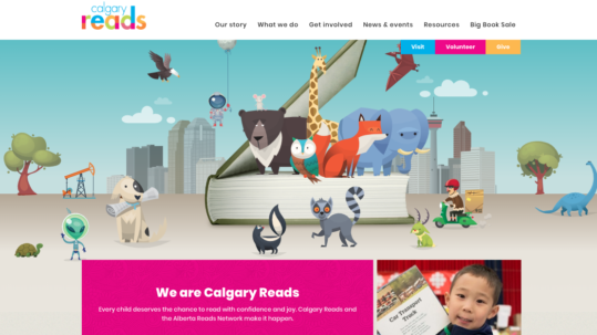 Calgary Reads Home Page